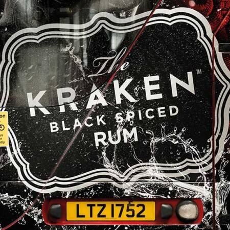 The Kraken Rum Buses Are On The Loose back of bus