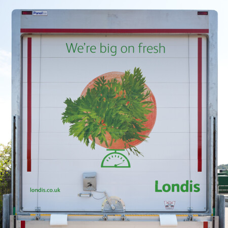 Londis lorry rear