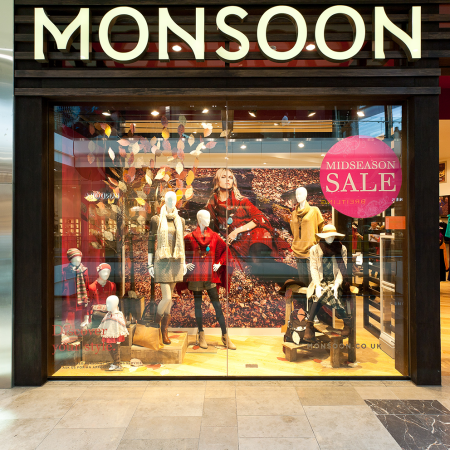 Monsoon Westfield window