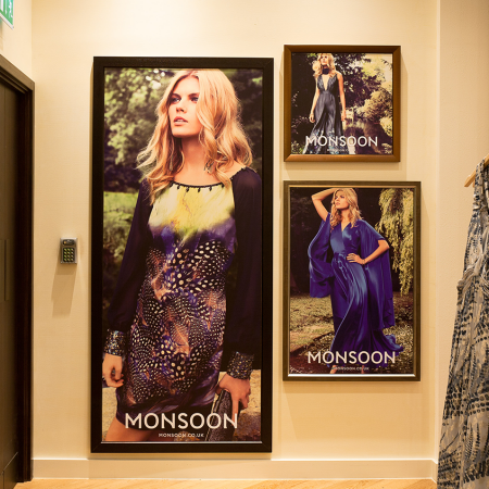 Monsoon Westfield framed prints