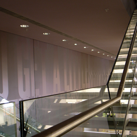 The O2 Arena Architectural Graphics stairs 2