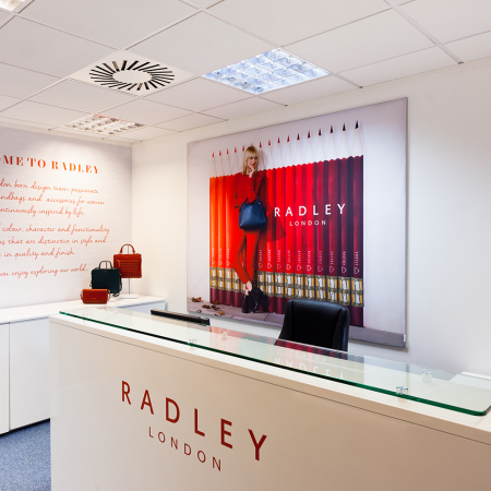 Radley Head Office printing