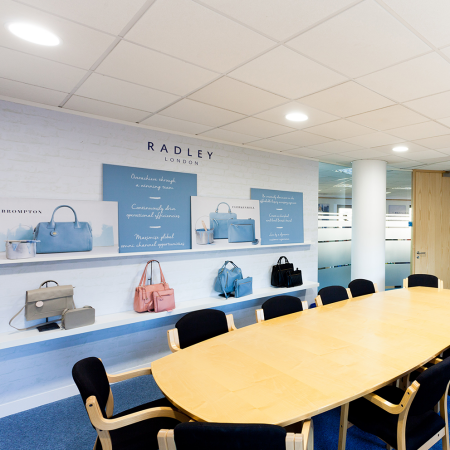 Radley Head Office meeting room