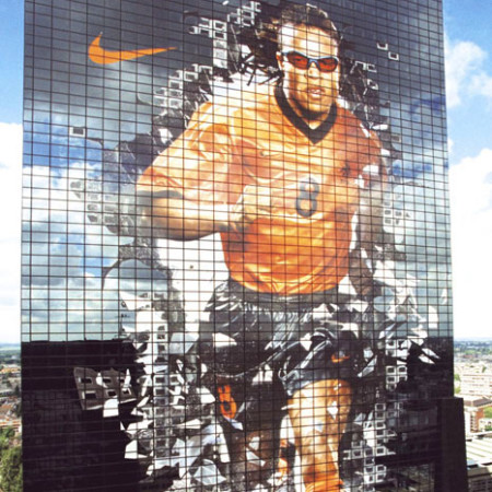 Nike Edgar Davids Building Wrap from front