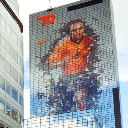Nike Edgar Davids Building Wrap whole image