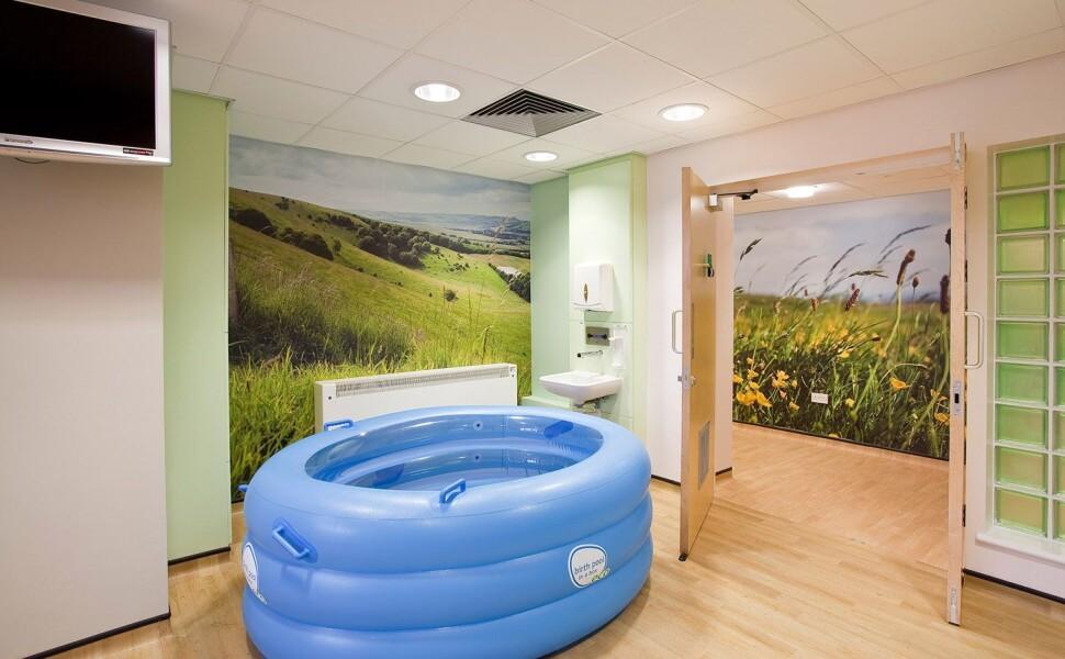 Birmingham Women's Hospital - countryside graphics