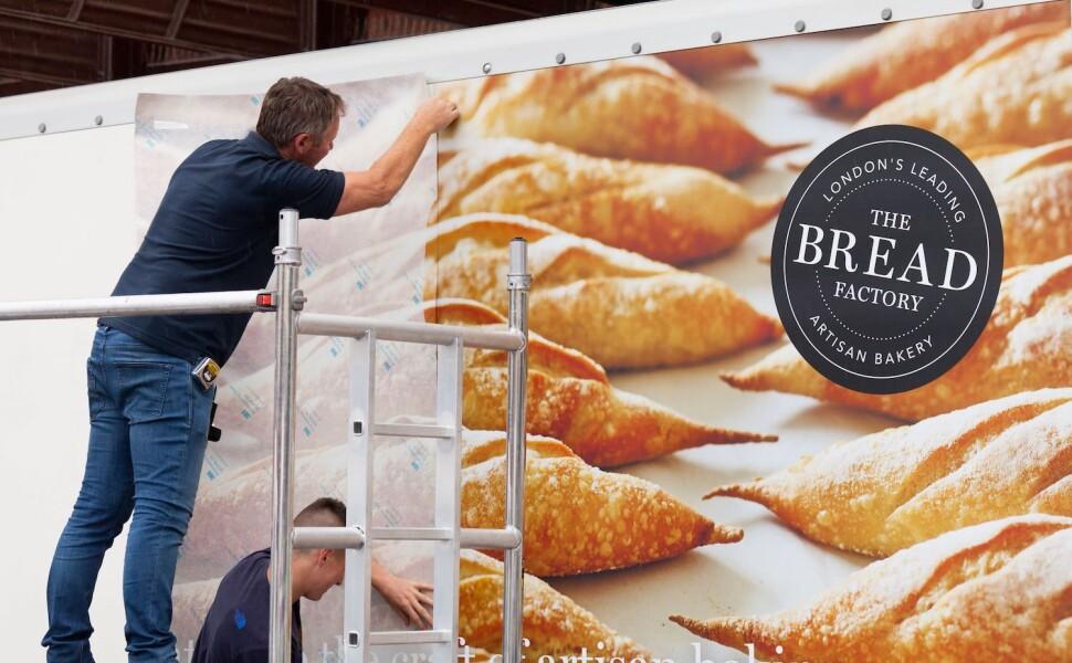 Bread - Freshly Made Fleet Livery installation
