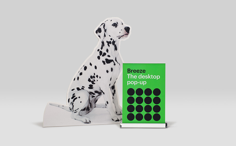 Breeze Desk Pop-up