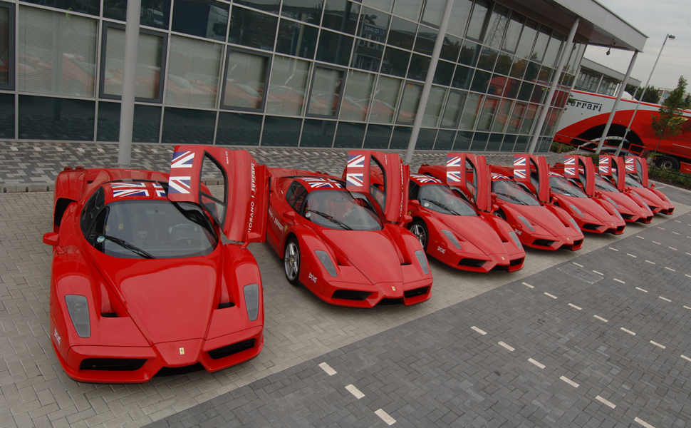 Ferrari Sponsor Graphics