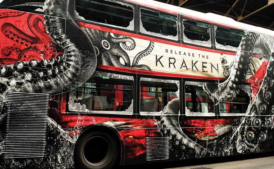 The Kraken Rum Buses Are On The Loose