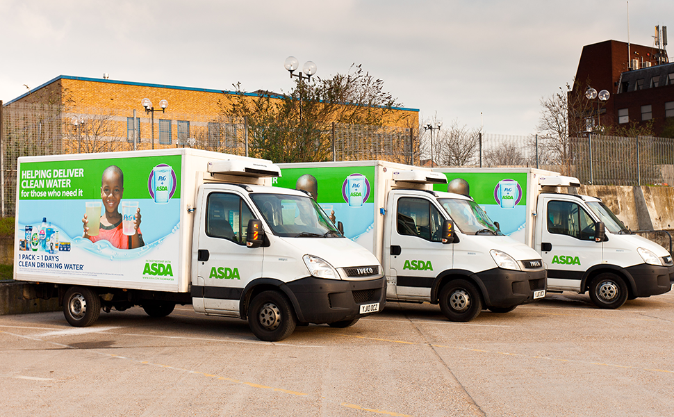 ASDA Delivery Vans Livery