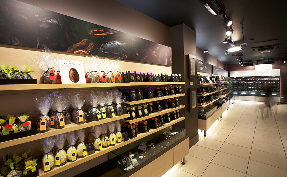 Hotel Chocolat Retail Graphics