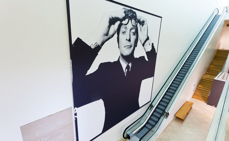 Michael Caine Fabric Frame