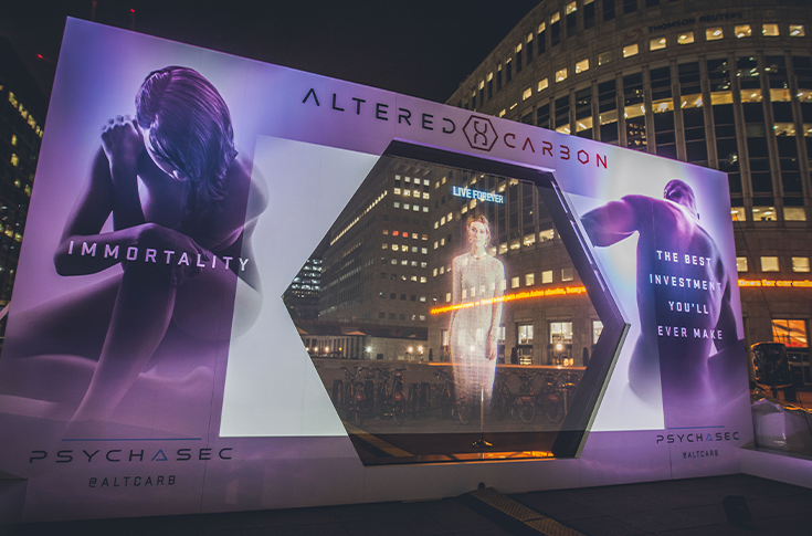 Events and Exhibitions altered carbon